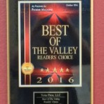 "It's Official: ""Best Shop in the Valley"" 2016!"